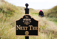 BALMEDIE - Aberdeenshire - Schotland. Trump International Golf Links. Next tee, COPYRIGHT KOEN SUYK