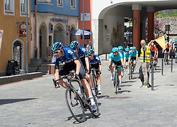 22.04.2019, Kufstein, AUT, Tour of the Alps, 1. Etappe, Kufstein - Kufstein, 144km, im Bild // Christopher Froome (GBR, Team Sky) at Kufstein during the 1st Stage of the Tour of the Alps Cyling Race from Kufstein to Kufstein (144km) in in Kufstein, Austria on 2019/04/22. EXPA Pictures © 2019, PhotoCredit: EXPA/ Reinhard Eisenbauer