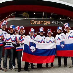 20110503: SVK, Ice Hockey - IIHF 2011 World Championship Slovakia, Slovenia vs Germany