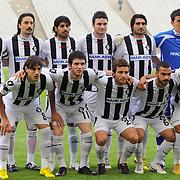 Altayspor's players during their Turkish soccer Play Off final match Altayspor between Konyaspor at Ataturk Olympic Stadium in Istanbul Turkey on Sunday, 23 May 2010. Photo by TURKPIX