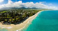Aerial photo of Kailua Beach, Oahu, Hawaii