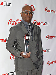 LAS VEGAS, NV - APRIL 26: Male Star of Yearr Award Winner Benicio Del Toro at the CinemaCon 2018 Big Screen Achievement Awards at The Colosseum at Caesars Palace in Las Vegas, Nevada on April 26, 2018. 26 Apr 2018 Pictured: Samuel L. Jackson. Photo credit: DAM/MPI/Capital Pictures / MEGA TheMegaAgency.com +1 888 505 6342