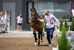 Hughes Gareth, GBR, Sintano Van Hof Olympia, 136<br /> Olympic Games Tokyo 2021<br /> © Hippo Foto - Dirk Caremans<br /> 23/07/2021