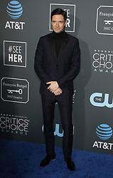 24th Annual Critics' Choice Awards. 13 Jan 2019 Pictured: Topher Grace. Photo credit: Jaxon / MEGA TheMegaAgency.com +1 888 505 6342