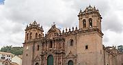 The Cathedral Basilica of the Assumption of the Virgin, Plaza de Armas, Cusco, Peru.