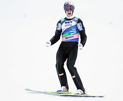 16.03.2012, Planica, Kranjska Gora, SLO, FIS Ski Sprung Weltcup, Einzel Skifliegen, im Bild Gregor Schlierenzauer (AUT),  during the FIS Skijumping Worldcup Individual Flying Hill, at Planica, Kranjska Gora, Slovenia on 2012/03/16. EXPA © 2012, PhotoCredit: EXPA/ Oskar Hoeher