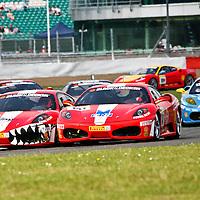 Ferrari Challenge F430, 60th Anniversary at Silverstone 10th June 2007