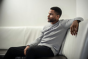 NEW YORK, NY -- 6/6/17 -- Nnamdi Asomugha, stars in the new film Crown Heights, based on the life of Colin Warner, who was wrongly incarcerated for over 20 years. Asomugha plays his best friend, Carl King in the film, which won the Audience Award at Sundance. The film is to be released August 25.…by André Chung #_AC18683