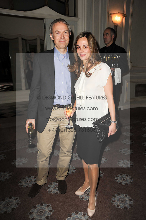 LUKE & LISA JOHNSON at a party to celebrate Penguin's reissue of Nancy Mitford's 'Wigs on The Green' hosted by Tatler at Claridge's, Brook Street, London on 10th March 2010.