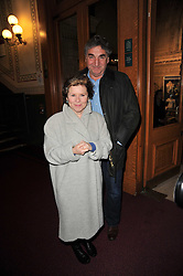 Imelda Staunton and Jim Carter at the opening night of Totem by Cirque du Soleil held at The Royal Albert Hall, London on 5th January 2011.