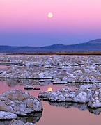 Rising Moonover Mono Lake,Mono Basin National Forest Scenic Area, CA