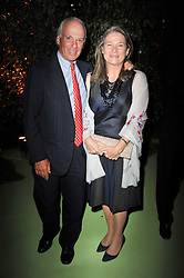 MICHEL & CHARLENE DE CARVALHO at a dinner hosted by Cartier in celebration of the Chelsea Flower Show held at Battersea Power Station, 188 Kirtling Street, London SW8 on 23rd May 2011.