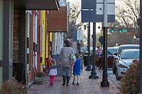 BENTONVILLE, AR - FEBRUARY 15:  View around the Square in Bentonville, Arkansas.<br /> CREDIT Wesley Hitt for The Wall Street Journal<br /> WALMART-Bentonville Scene-setters