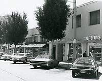 1977 Jurgensen Grocery & shops on Larchmont Blvd.