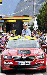 July 20, 2018 - Valence, France - VALENCE, FRANCE - JULY 20 : PRUDHOMME Christian (FRA) Director of ASO during stage 13 of the 105th edition of the 2018 Tour de France cycling race, a stage of 169.5 kms between Bourg d'Oisans and Valence on July 20, 2018 in Valence, France, 20/07/2018 (Credit Image: © Panoramic via ZUMA Press)