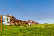 26-07-2016 Foto's persreis Golfers Magazine met Pin High naar Alicante en Valencia in Spanje. <br /> Foto: La Galiana - hole 1 La Cuesta.