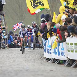 Sportfoto archief 2013<br /> Tour of Flanders women Paterberg Emma Johansson takes the lead