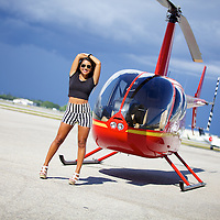 Brenda Cidral Helicopter