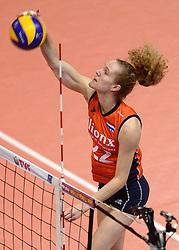 09-01-2016 TUR: European Olympic Qualification Tournament Rusland - Nederland, Ankara<br /> De strijd om Rio of Japan / Nicole Koolhaas #22