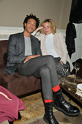 CHARLIE CASELY HAYFORD and SOPHIE ASHBY at the Tatler Little Black Book Party held at Home House Private Member's Club, Portman Square, London supported by CARAT on 6th November 2014.