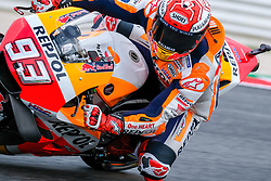 September 7, 2018 - 93 MARC MARQUEZ from Spain, HRC Repsol Honda Team, Honda RC213V, Gran Premio Octo di San Marino e della Riviera di Rimini, during the Friday FP2 at the Marco Simoncelli World Circuit for the 13th round of MotoGP World Championship, from September 7th to 9th, 2018. (Credit Image: © AFP7 via ZUMA Wire)
