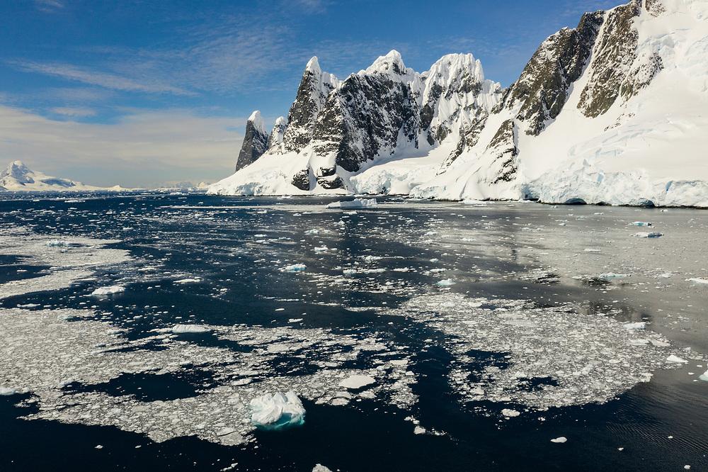 Cape Renard at  Flandres Bay, Antarctica