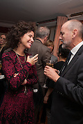 MOLLIE DENT-BROCKLEHURST; CHRISTOPHER LE BRUN PRESIDENT OF THE ROYAL ACADEMY, Dinner to celebrate the opening of Pace London at  members club 6 Burlington Gdns. The dinner followed the Private View of the exhibition Rothko/Sugimoto: Dark Paintings and Seascapes.
