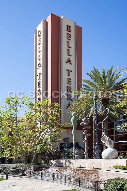 Bella Terra Shopping, Dining, and Entertainment Center in Huntington Beach