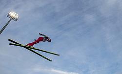 06.01.2014, Paul Ausserleitner Schanze, Bischofshofen, AUT, FIS Ski Sprung Weltcup, 62. Vierschanzentournee, Probesprung, im Bild Michael Neumayer (GER) // Michael Neumayer (GER) during Trial Jump of 62nd Four Hills Tournament of FIS Ski Jumping World Cup at the Paul Ausserleitner Schanze, Bischofshofen, Austria on 2014/01/06. EXPA Pictures © 2014, PhotoCredit: EXPA/ JFK