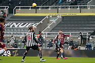 Leeds United midfielder Mateusz Klich (43) passes the ball during the Premier League match between Newcastle United and Leeds United at St. James's Park, Newcastle, England on 26 January 2021.