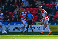James Coppinger of Doncaster Rovers (26) passes the ball during the EFL Sky Bet League 1 match between Doncaster Rovers and Coventry City at the Keepmoat Stadium, Doncaster, England on 4 May 2019.