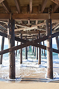 Under the Balboa Pier