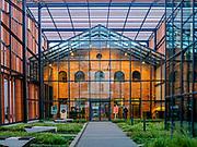 Małopolski Ogród Sztuki przy ulicy Rajskiej w Krakowie, Polska<br /> Malopolski Garden of Art at Rajska Street in Cracow, Poland
