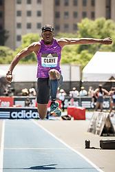 adidas Grand Prix Diamond League Track & Field: mens triple jump, Will Claye, USA, Nike