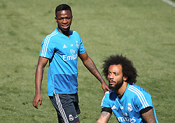 May 4, 2019 - Madrid, Madrid, Spain - Vinicius Jr. of Real Madrid in action during training day, May 04th, in Ciudad Deportiva Real Madrid, in Valdebebas, Madrid, Spain. (Credit Image: © AFP7 via ZUMA Wire)