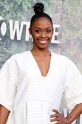 May 19, 2017 - Los Angeles, CA, USA - LOS ANGELES - MAY 19:  Nafessa Williams at the ''Twin Peaks'' Premiere Screening at The Theater at Ace Hotel on May 19, 2017 in Los Angeles, CA (Credit Image: © Kay Blake via ZUMA Wire)