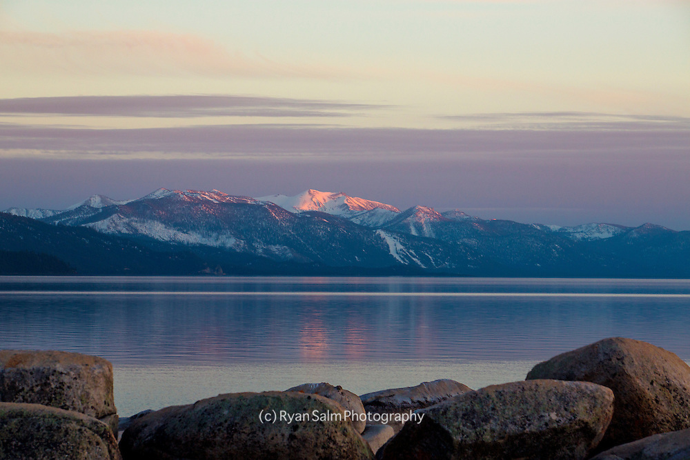 Heavenly Glow<br /> Lake Tahoe, California