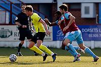 Sam Dalby. Weymouth FC 1-0 Stockport CountyFC. Vanarama National League. Bob Lucas Stadium. 6.3.21