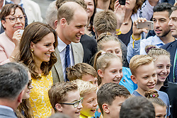 The Duke and Catherine Duchess of Cambridge Princess Kate and Prince William visit the Traditional German market Central market square, Heidleberg Accompanied by the Mayor of Heidelberg, they will tour a traditional German market in the central square in Germany on july 20, 2017. Photo by Robin Utrecht/ABACAPRESS.COM