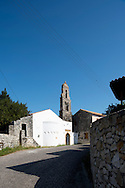 The belfry and bell tower of Agios Pantocratoras 'Il Conde' in Makratika,Paxos, The Ionian Islands, Greece, Europe