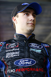 April 27, 2018 - Talladega, Alabama, United States of America - Ty Majeski (60) hangs out in the garage during practice for the Spark Energy 300 at Talladega Superspeedway in Talladega, Alabama. (Credit Image: © Chris Owens Asp Inc/ASP via ZUMA Wire)