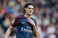 Paris Saint Germain's Uruguayan forward Edinson Cavani reacts during the French Championship Ligue 1 football match between Paris Saint-Germain and Girondins de Bordeaux on September 30, 2017 at the Parc des Princes stadium in Paris, France - Photo Benjamin Cremel / ProSportsImages / DPPI