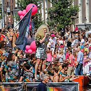 NLD/Amsterdam/20120804 - Canalparade tijdens de Gaypride 2012, Diva Mayday