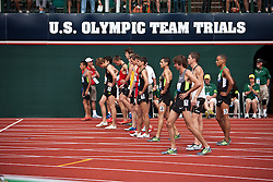 2012 USA Track & Field Olympic Trials: men's 1500 meter final, start