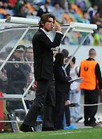 20120308: LISBON, PORTUGAL – UEFA Europa League 2011/2012 - 1st Leg: Sporting CP vs Man. City.<br /> In photo: coach Ricardo Sa Pinto<br /> PHOTO: Alvaro Isidoro/CITYFILES