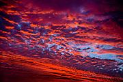 Dawn November sky, Kent, UK