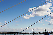 Cable Bridge, Tri-Cities, Wash. March 3, 2008.