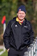 BILTHOVEN -  Hoofdklasse competitiewedstrijd dames, SCHC v hdm, seizoen 2020-2021.<br /> Foto: Scheidsrechter