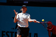 Denis Shapovalov of Canada in action during the Mutua Madrid Open 2018, tennis match on May 10, 2018 played at Caja Magica in Madrid, Spain - Photo Oscar J Barroso / SpainProSportsImages / DPPI / ProSportsImages / DPPI