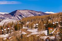 Snowmass Village, Colorado USA.